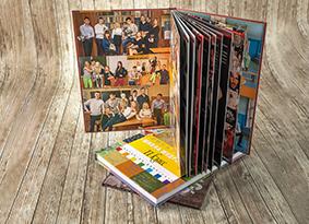Альбомы с твердой обложкой на пластике